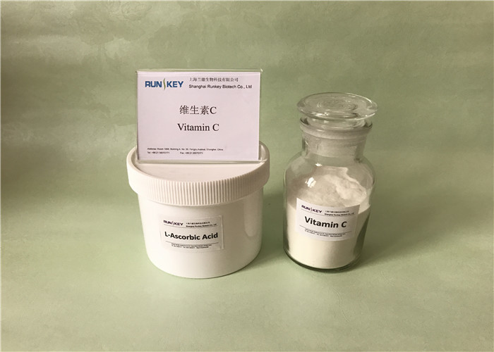 Pure Crystalline Vitamin C Powder Pharmaceutical Raw Materials For Scurvy Treatment